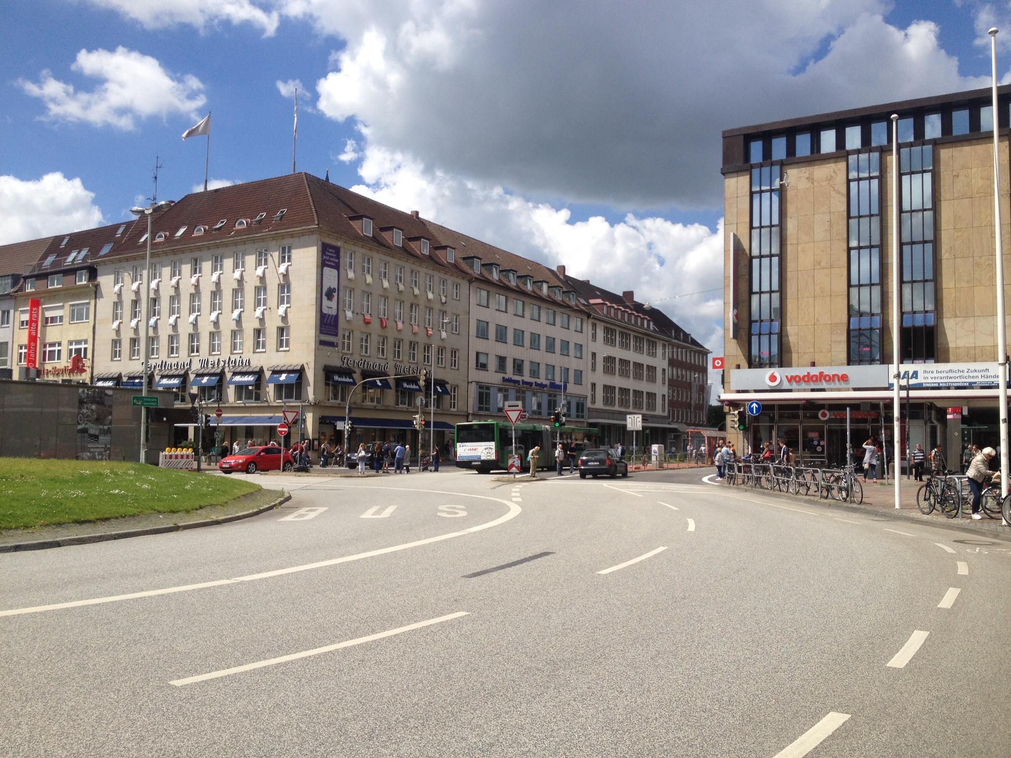 Berliner Platz vor der Realisierung Kleiner Kiel-Kanal_Plan und Praxis GbR