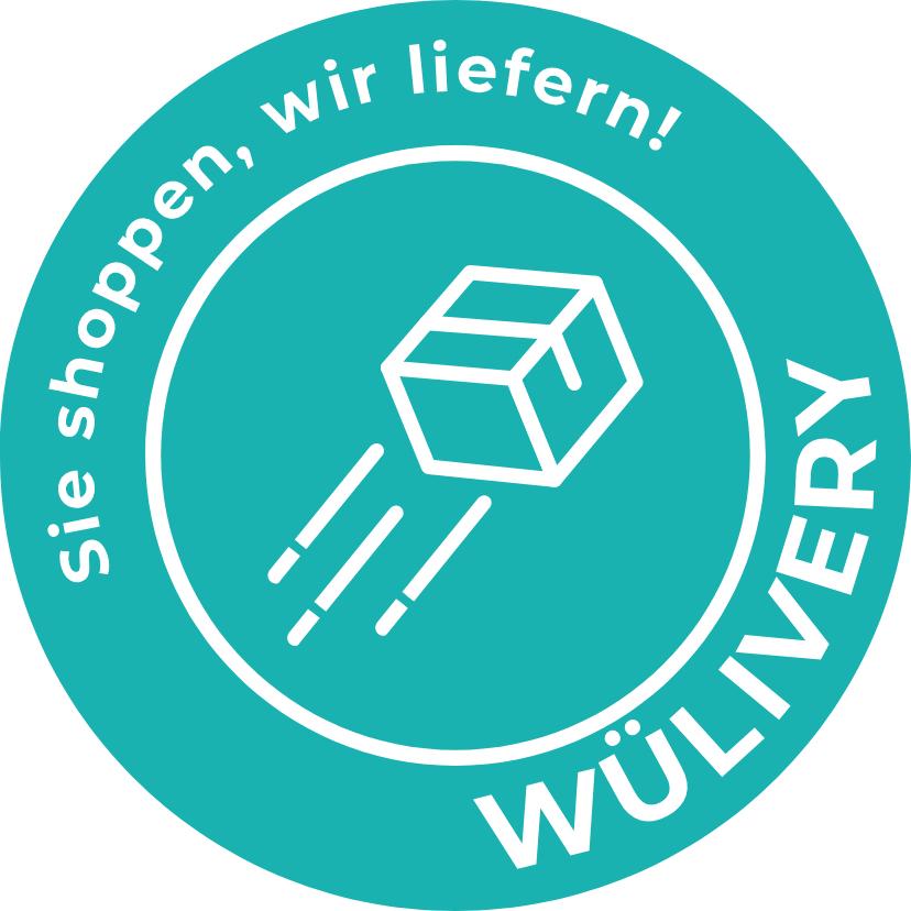 Aufkleber WüLivery – Agentur Radboten GbR, Würzburg – © Oliver Zientarski