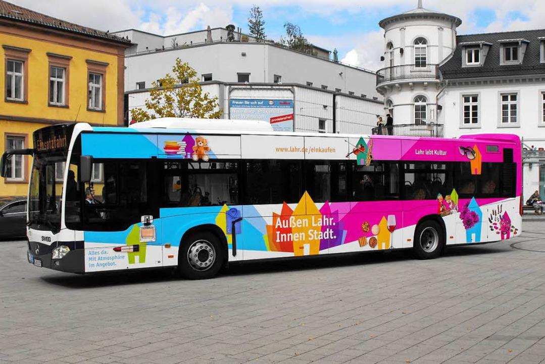 Bus-Applikation Innenstadtkampagne-Fotograf Stadt Lahr-by Stadt Lahr2018