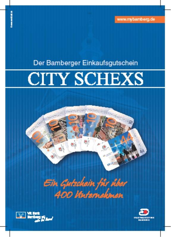 CITY SCHEXS_Anzeige mercado_115x165mm_Werktakt - Agentur für Kommunikation_Stama Bamberg 2016
