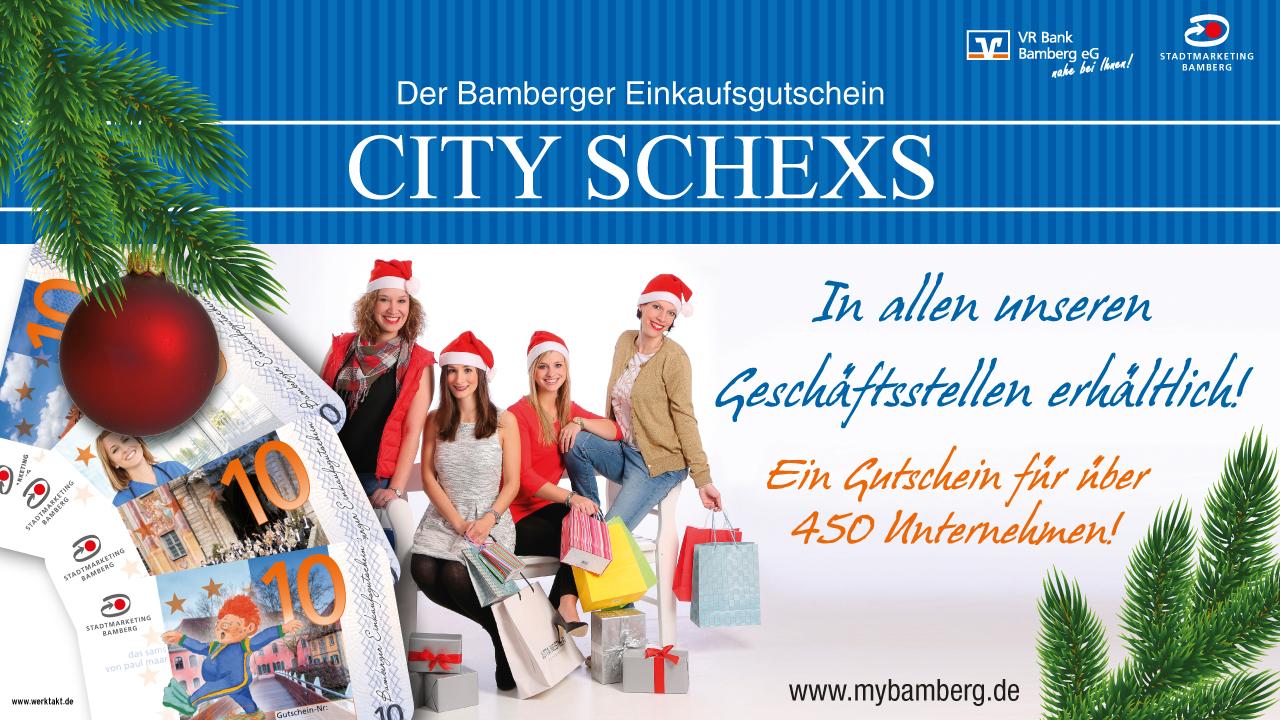 CitySchexs_Weihnachten2015_VRBank_Geldautomat_1280x720 pixel_Werktakt - Agentur für Kommunikation_Stama Bamberg