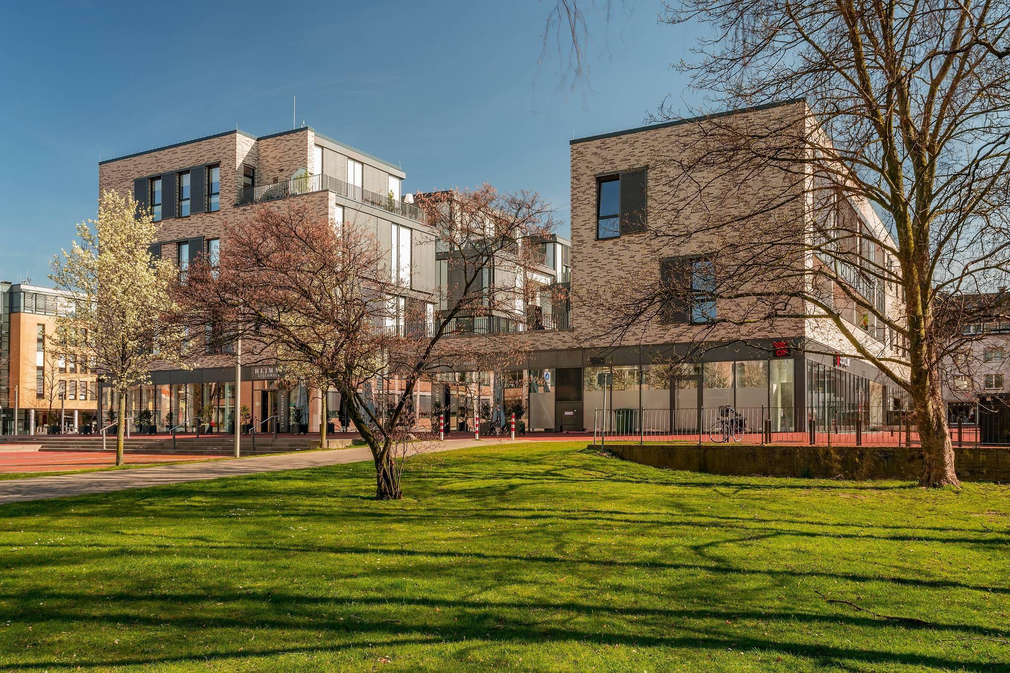 Ehemalige Hertie Immobilie nach dem Umbau - Fotograf Bauverein zu Lünen - © Stadt Lünen
