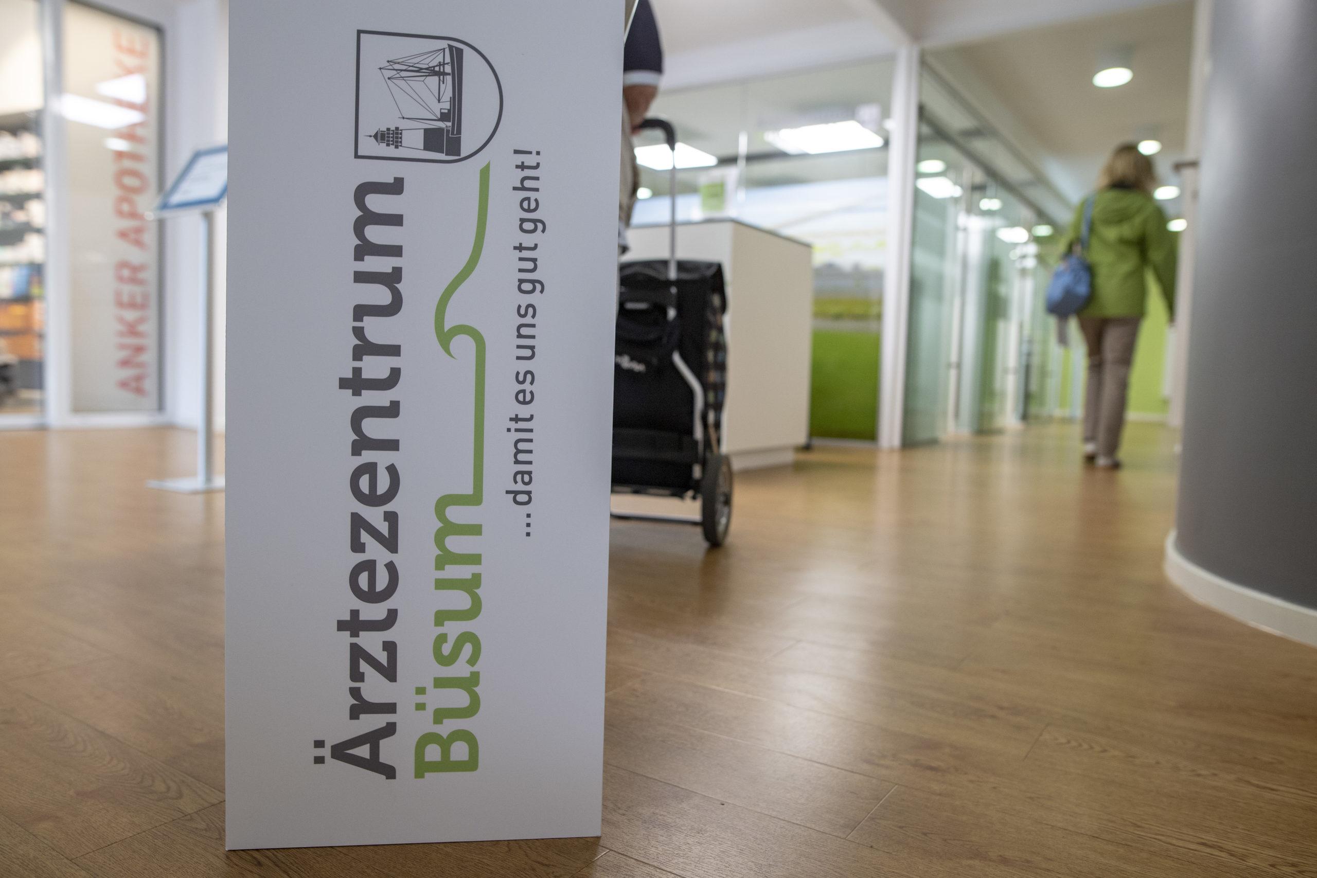 Eingangsbereich_Ärztezentrum Büsum_Fotograf Tim Riediger_Ärztegenossenschaft Nord eG