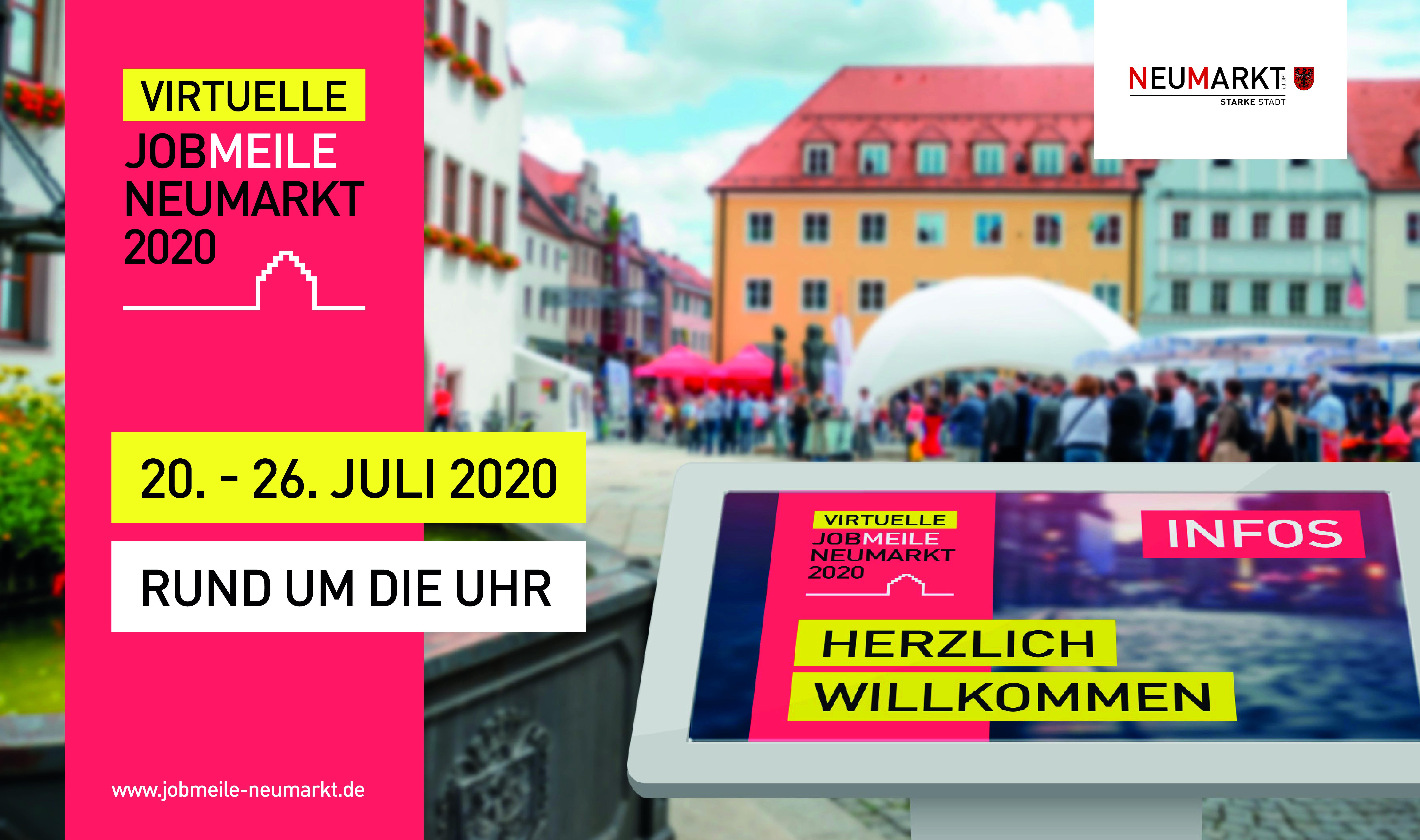 Jobmeile2020_Neumarkt_Stadt Neumarkt via Agentur mr.pixel_Andreas Krause