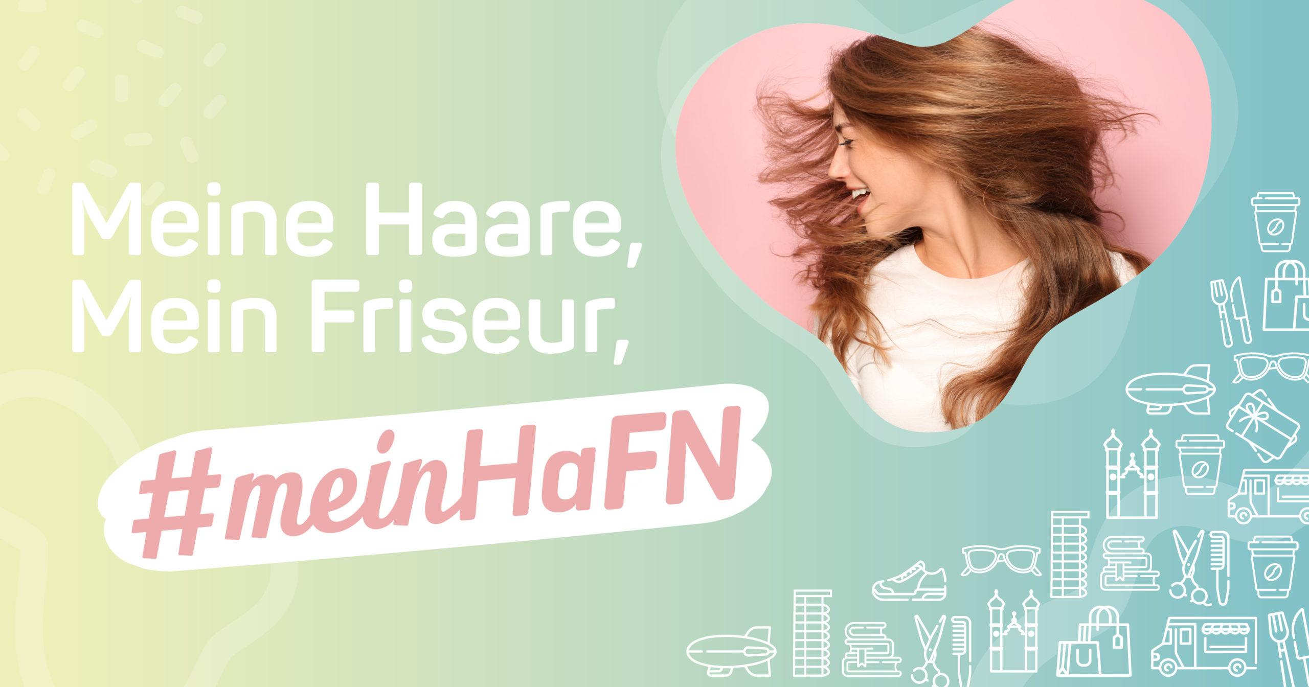 Kampagnenmotiv Friseure - Werbeagentur ALPENBLICKDREI - © Stadtmarketing Friedrichshafen GmbH