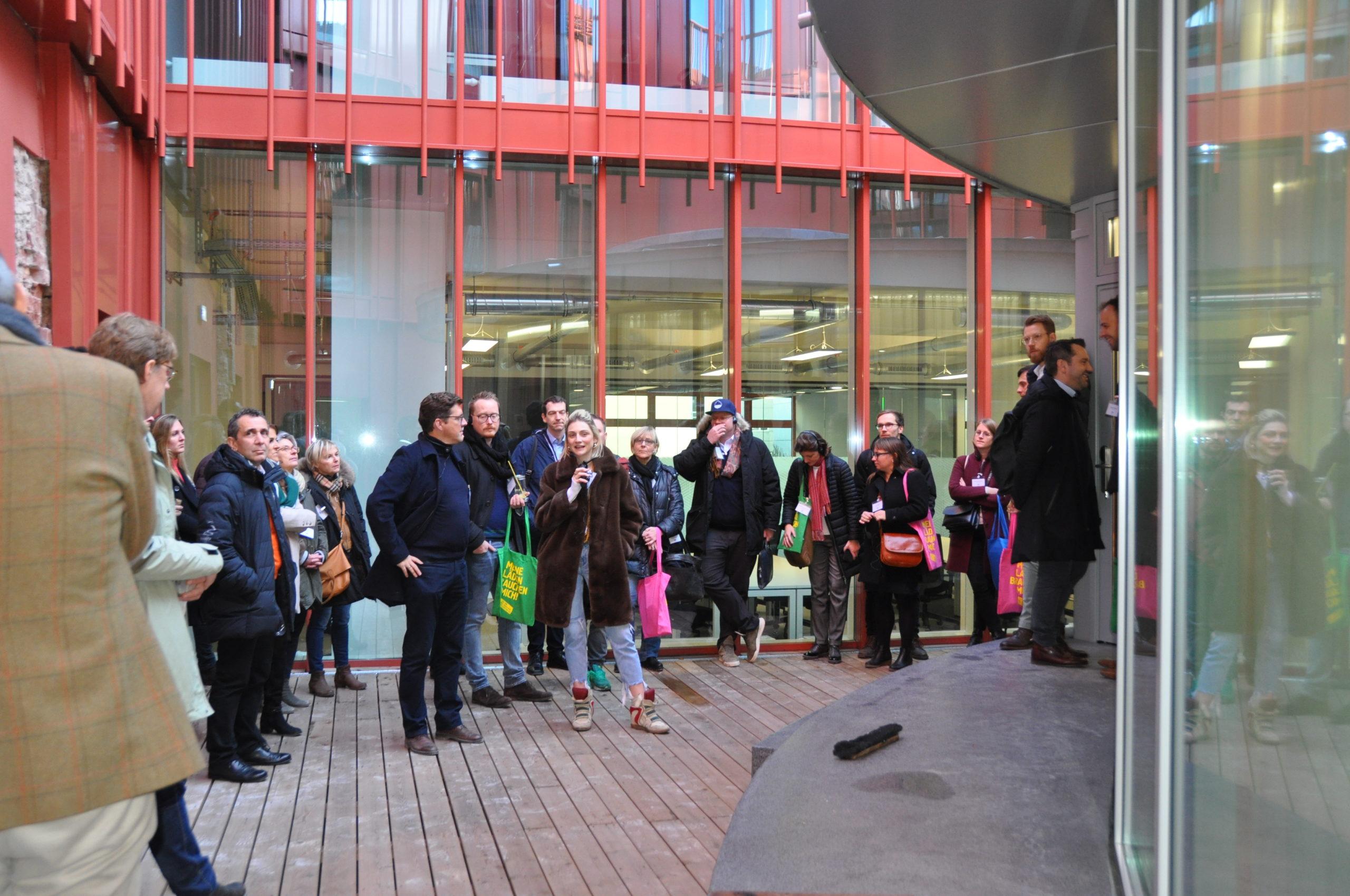 Spaces_Alte Post_Vorstellung des neuen CoWorking-Spaces im ehemaligen Postgebäude_LOKATION:S_Aktion_Karl_Marx_Straße